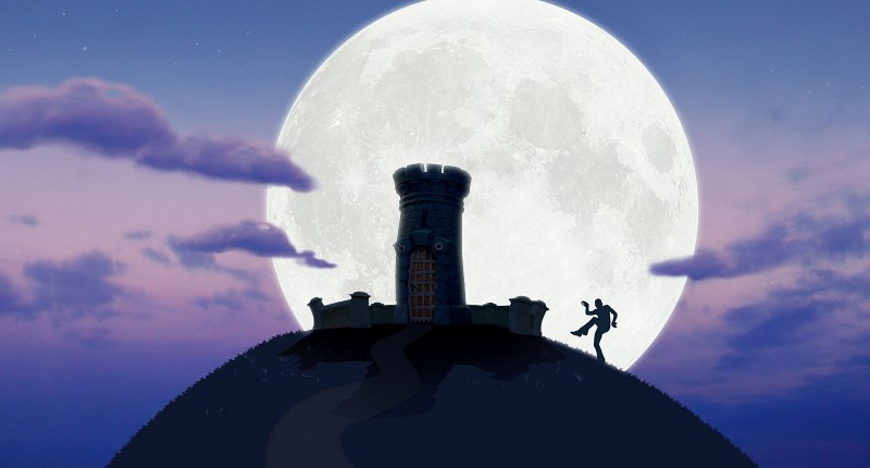 Castle on Moon