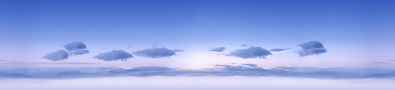 Morning sky background for 3D rendering