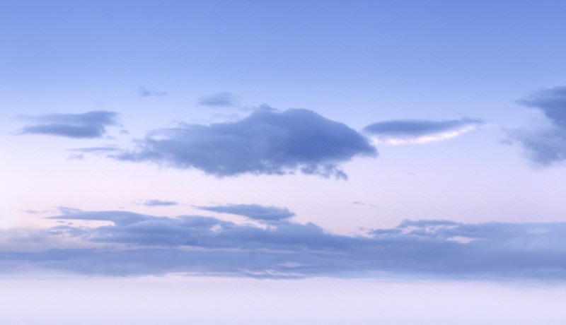 Morning sky map (close-up detail)