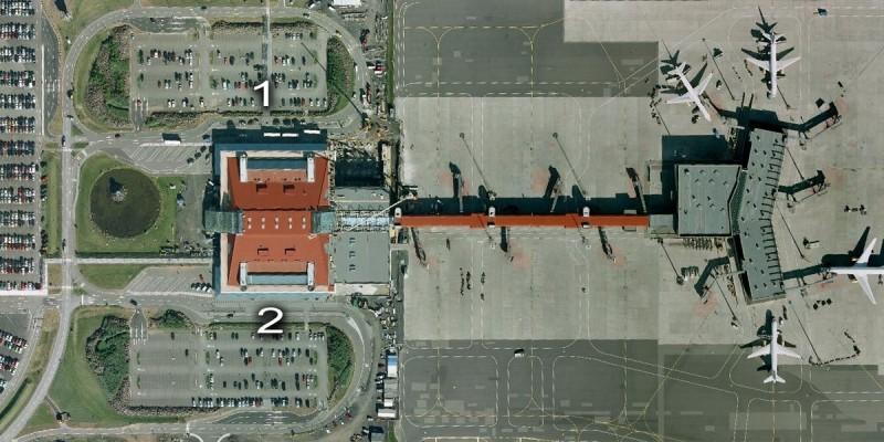 keflavik airport arial