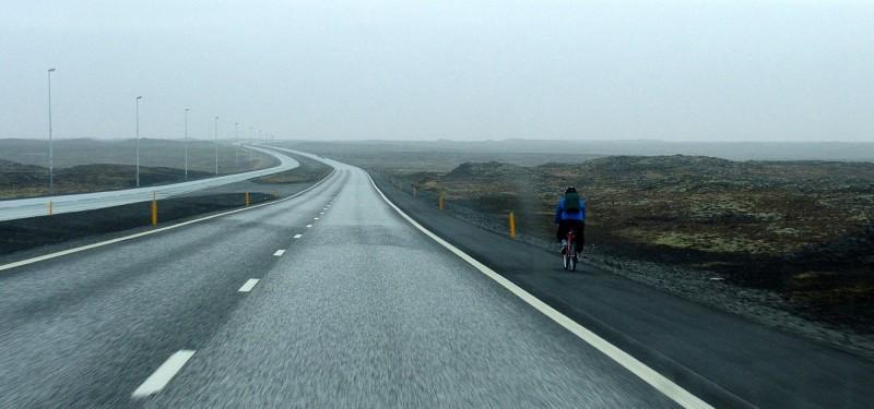 road 41 from keflavik to reykjavik