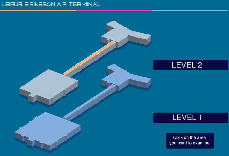 Keflavik airport map