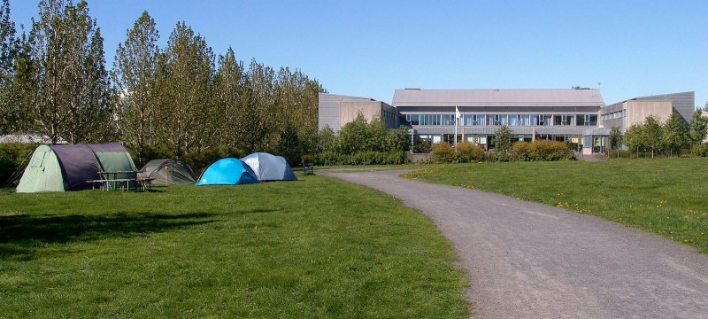Reykjavik campsite and Youth Hostel