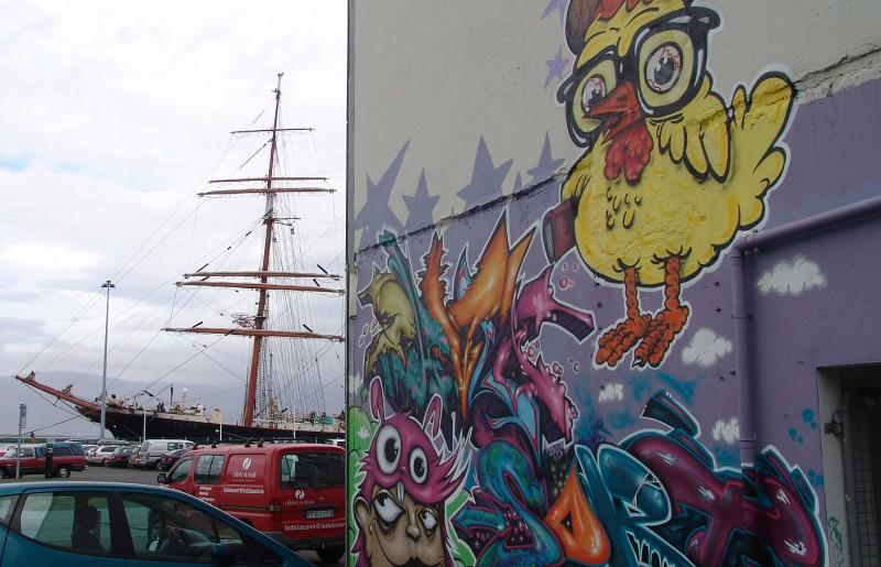 Sedov in Reykjavik