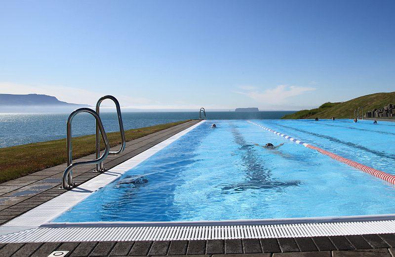Swimming pool in Hofsos