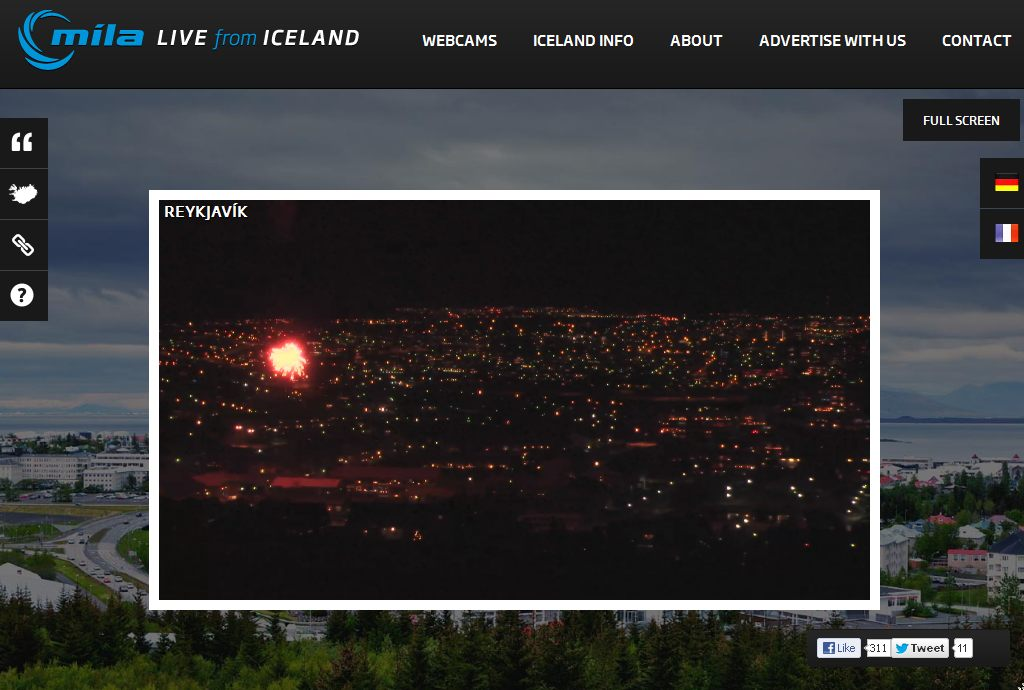 new year in reykjavik