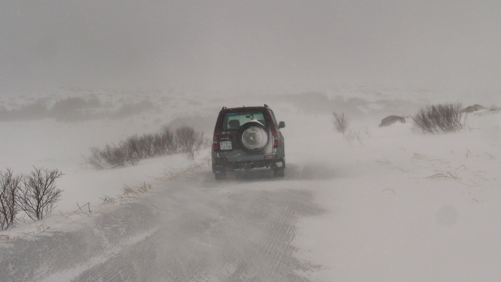 , Copyright © Ruslendingur,  Iceland, winter, Heiðmörk;