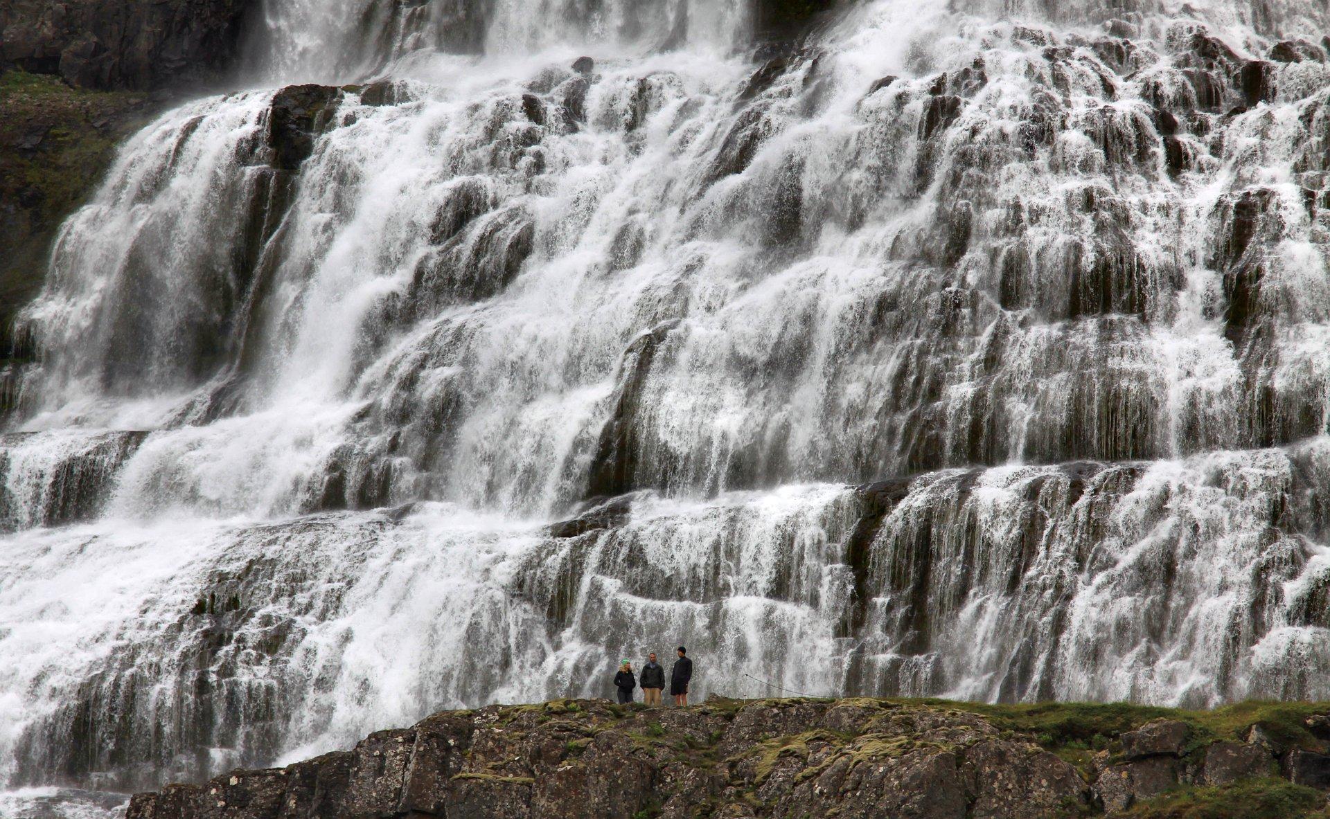 ruslendingur, Iceland, Dynjandi, waterfall, Westfjords;