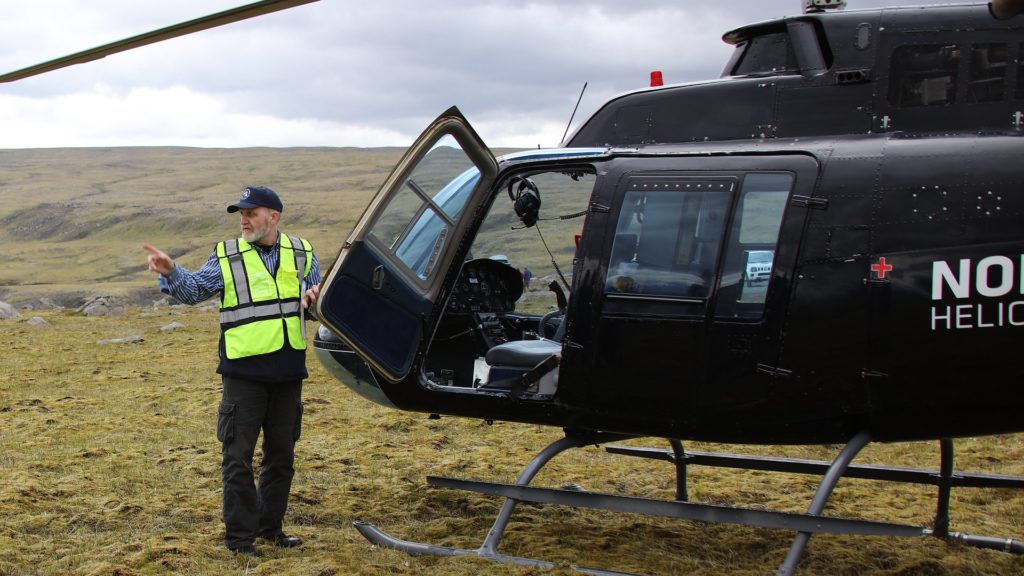 ruslendingur, helicopter and Haifoss
